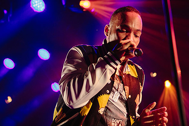 Anderson .Paak at Hype Hotel