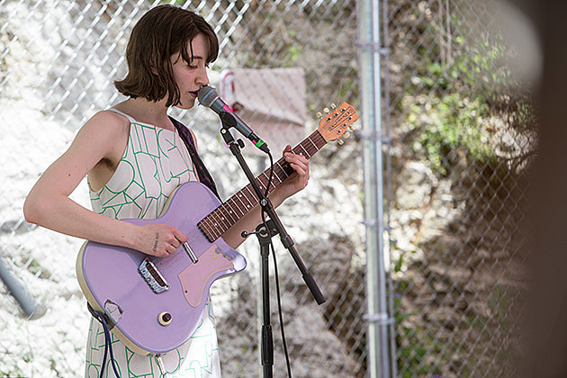 Frankie Cosmos at Cheer Up Charlies