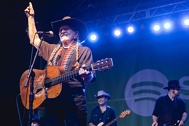 Willie Nelson at Spotify House